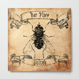 Bar Flies United  Metal Print