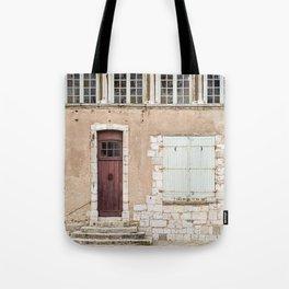 Little Brown Door Tote Bag