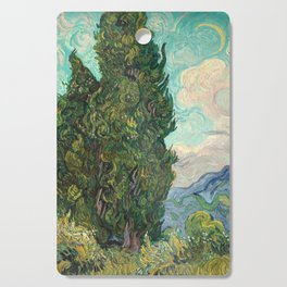 Cypresses by Vincent van Gogh Cutting Board