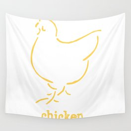 Chicken Wall Tapestry