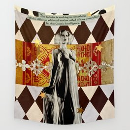 Cosmic Intelligence Wall Tapestry