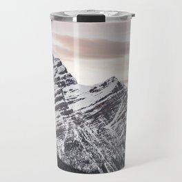 Mountains at Sunset Travel Mug