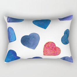 One heart in a million Rectangular Pillow