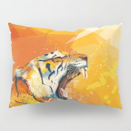 Tiger in the morning Pillow Sham