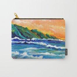 Romantic Kauai Sunset Carry-All Pouch