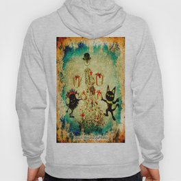 Mr. Bone, Whim and the Evil Flower Bug wish you a merry Christmas Hoody