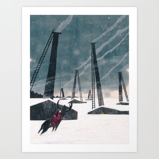 Snow Queen - Lapland Art Print