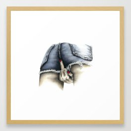 Put a Bird on It Framed Art Print