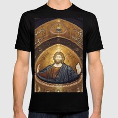 DUOMO MONREALE - SICILY X-LARGE Mens Fitted Tee Black