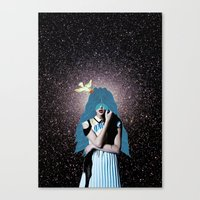 lsd Canvas Prints featuring LSD by Mrs Araneae