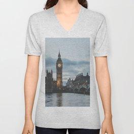London, United Kingdom II Unisex V-Neck