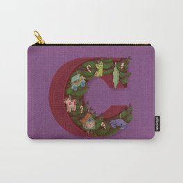 C is for Christmas Carry-All Pouch