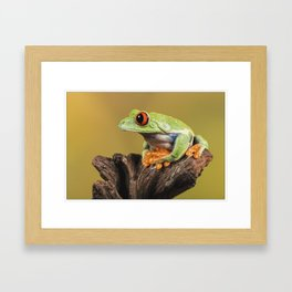 Are You Sitting Comfortably Framed Art Print