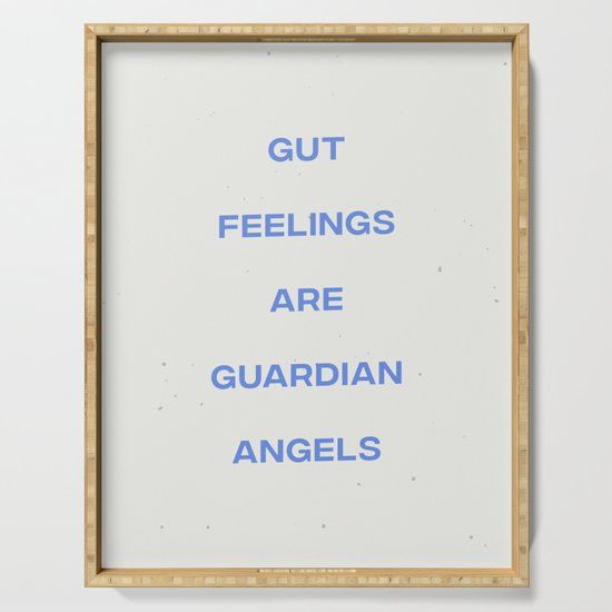 Gut Feelings Are Guardian Angels by subliming