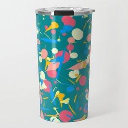 Paint splashes Travel Mug