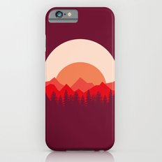 Red Mountains iPhone 6s Slim Case