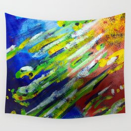 Underwater Painting Wall Tapestry