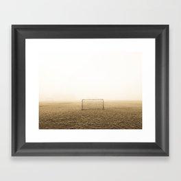 Soccer Field Framed Art Print