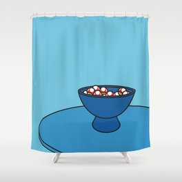 Mushroom Bowl Shower Curtain