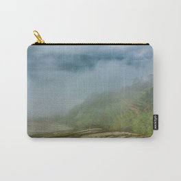 Misty View of Longj Rice Terraces Carry-All Pouch