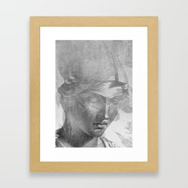 Athena Framed Art Print