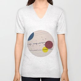 Chaos On The Wires Unisex V-Neck