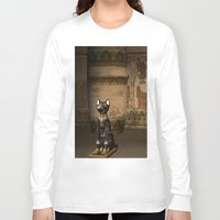 egypt Long Sleeve T-shirts featuring Egypt temple  by nicky2342
