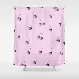 Cherry Camio Shower Curtain