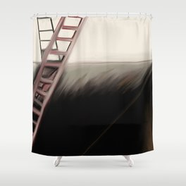 Ladders of Life Shower Curtain