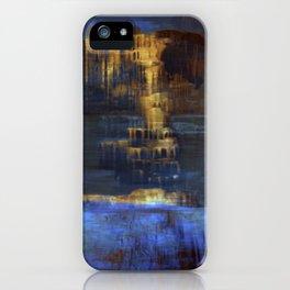Cave 03 / The Interior Lake / wonderful world 10-11-16 iPhone Case