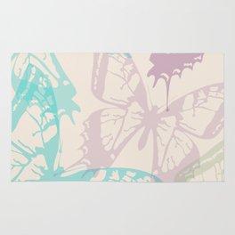 Soft Butterflies Rug