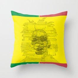 Words of Reggae Throw Pillow