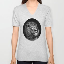 Proud Young Lion Unisex V-Neck