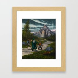 The Borderlands Framed Art Print