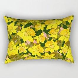 Daffodil Forest Rectangular Pillow