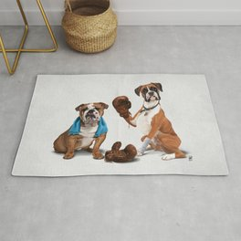 Raging (Wordless) Rug