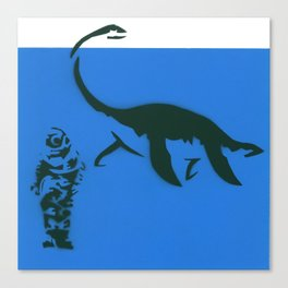 nothing to doubt (nessie) Canvas Print
