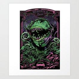 Little Shop of Horrors - Musical Art Print