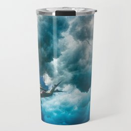 Under a Water Sky Travel Mug