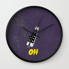 OH NO YOU DIDN'T 1 of 4 Wall Clock