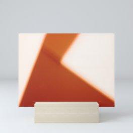 Geometric Abstract Light 01 Mini Art Print