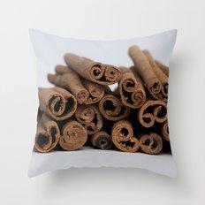 Cinnamon Spice - Kitchen Still Life Throw Pillow