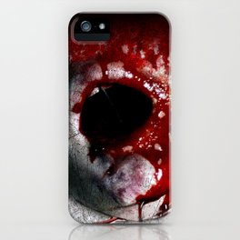 Bloody Mouth iPhone Case