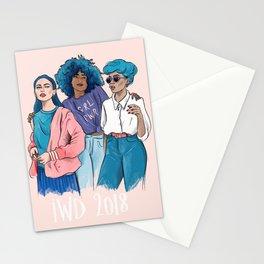 International Women's Day 2018 illustration Stationery Cards
