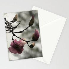 Pale pink blooms Stationery Cards