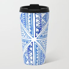 Geo tile art Travel Mug