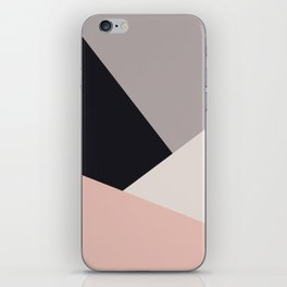 Elegant & colorful geometric iPhone Skin