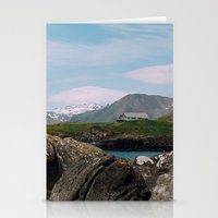 iceland Stationery Cards featuring iceland by Anna Levina