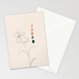 A Floral Palette Stationery Cards