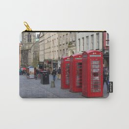 Telephone Booths Royal Mile Edinburgh Carry-All Pouch